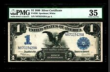 1899 $1 Large Size Notes Silver Certificate Pmg Vf 35