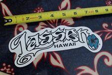 "New listing Lassen Hawaii lei Aloha tribal blue ~8"" Vintage Sunglasses Surfing Decal Sticker"
