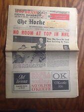 1966 The Hockey News Magazine February 12th Issue