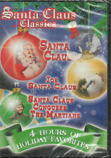 Santa Claus Classics DVD New- 4 Hours Holiday Favorites
