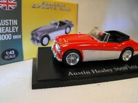 MODEL  AUSTIN HEALEY 3000 MK 3 SPORTS CAR BRITISH SPORTS CLASSIC  1:43 DIE CAST
