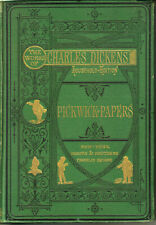 Charles Dickens 1873 Illustrated The Pickwick Papers Vintage
