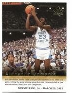 2014-15 SP AUTHENTIC MICHAEL JORDAN AUTHENTIC MOMENTS CARD #68 (TAR HEELS)