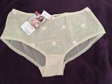 CULOTTE PANACHE SUPERBRA HIPSTER SHORT FLORAL XL UK 16 - EUR 42 BRAZILIAN BRIEF