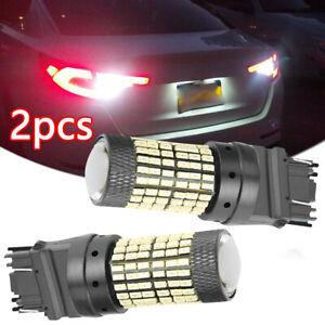 2* White 6000K 48W 144SMD 3157 LED Reverse Bulb Backup Signal Light Auto Parts