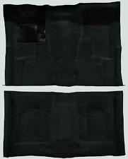 ACC 68-72 CHEVELLE 2-DR AUTOMATIC MOLDED *BLACK* CARPET 80/20 LOOP RUG USA