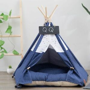 Portable Fold-able Dog Tent House Breathable Travel Outdoor Cushion Pet Supplies