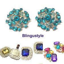 Blingustyle New Rhinestone Wedding Bridal Diamante Crystal Sparkle Shoe