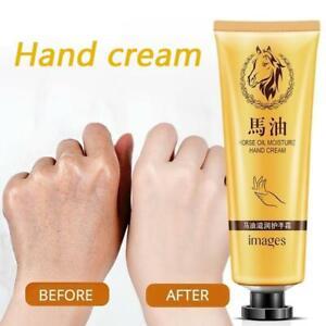 Crema de manos de aceite de caballo Antienvejecimiento Suave Hidratante Nutritiv