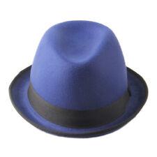Men Women Fedora Hats Trilby Bowler Derby Caps Cloche Bucket Jazz Panama Sunhat