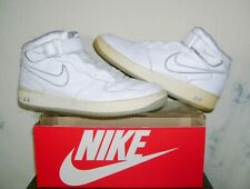 Vtg 2001 NIKE AIR FORCE 1 Mid White/Grey Sz 11 AF1 Athletic Shoes FAST SHIPPING!