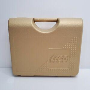 Vintage Lego Carrying Storage Case 1997 Gold USA