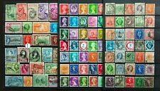 GB & Colonies, mixture 300 stamps used (Three lots).