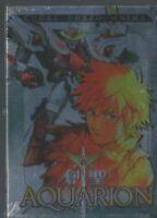 BOX 2 DVD ANIME PSYCO ROBOT MANGA-AQUARION 1,ERA DELLA SACRA GENESI x,evangelion