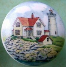 Ceramic knob Light House Lighthouse Cape Neddick ME