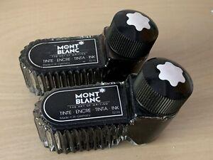 2 Mont Blanc Black Ink Tinte Encre