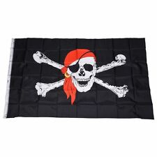 90x150cm Jolly Roger Pirate Flag Skull & Crossbone Flags Pirate Party Accessorie