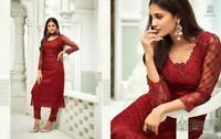 Ethnic Salwar Kameez Indian Pakistani Suit Bollywood Designer Party Wear Dres KB