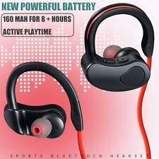 New listing Wireless Bluetooth Sweatproof Runing Headset Sport Earphones Stereo Headphones