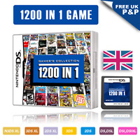 1200 in 1 Video Games Cartridge Pokemon Card For DS NDS NDSL NDSi 2DS 3DS UK