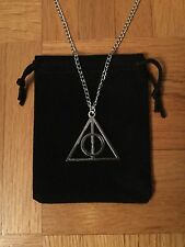 Harry Potter Deathly Hallows Charm Necklace / Pendant