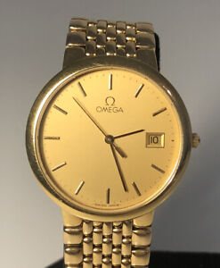 OMEGA De Ville Quartz Watch. Gents / Men's 33mm.  Just Serviced (April 2021)