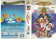 Anche i cani vanno in Paradiso. Un racconto di Natale (1999) VHS