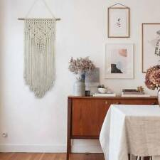 Macrame Woven Wall Hanging Boho Chic Home Geometric Art Decor TIP