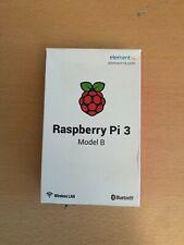 RASPBERRY Pi 3 MODEL B 1GB RAM WITH MEMORY CARD/BRAND NEW & SEALED/AWESOME ITEM!