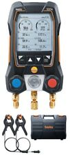 Testo 550s Digital Manifold Kit with temperature probes, -14 to 870 psi
