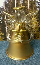 Vintage Unique Handblown Glass Angel Christmas Decoration/Ornament