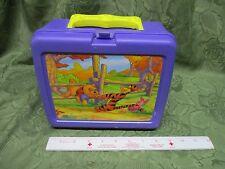 Vintage Thermos Disney Winnie the Pooh Plastic Lunch Box Purple Tigger Piglet & vintage winnie the pooh lunchbox lunch boxes | eBay Aboutintivar.Com