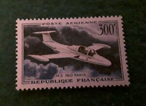 France 300f 1957 Air Stamp Sg1318  mint