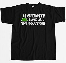 Chemists Have All The Solutions Big Bang Sheldon Mens T-Shirt