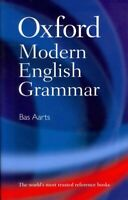 Oxford Modern English Grammar, Hardcover by Aarts, Bas, Brand New, Free P&P i...