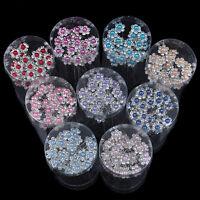 New 20Pcs Wedding Bridal Crystal Pearl Flower Crystal Hair Pins Clips Bridesmaid