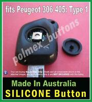 fits Peugeot 306 405 remote key - 1 repair BUTTON (suit sq switch with worn tip)