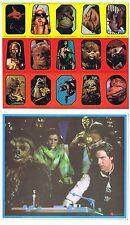 Star Wars Return Of The Jedi ROTJ Vintage Series Uncut Sticker Sheet Topps 1983