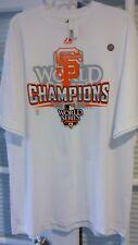 SAN FRANCISCO GIANTS  MLB WORLD SERIES CHAMPIONS TEE - MENS SIZE MEDIUM    NICE!
