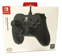 NEW Power A Nintendo Switch Wired Controller Black ~ Nintendo Switch Controller