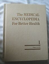 The Medical Encyclopedia For Better Health by R.J.Wagman, M.D. 1978 HC 2 Vol.Set
