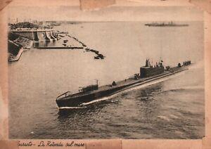 Vintage Postcard 1910's La Rotonda Submarine Taranto Sub