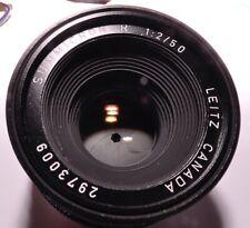 Obiettivo LEICA R Leitz Canada Summicron-R  50mm f 2