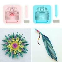 Quilling Board Pins Storage Light Grid Guide For Paper Crafting HOT Winder X7K8