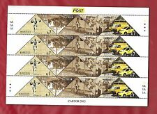 240thANNIV. OF POSTAL SERVICES IN MAURITIUS. FULL SHEET. MNH. 2012