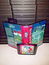 Sonic the Hedgehog 2 - Knuckles Emerald Hunt Game for Sega Genesis! Cart & Box!