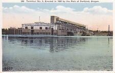 Portland, OR - Terminal No 4, Erected in 1920