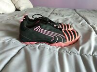 Puma Black Pink Mesh Running Shoes Sneakers Womens Size 9