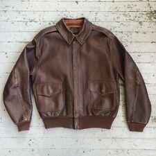 Eastman Leather Company WW2 Rough Ware Co. A-2 Flight Jacket 40