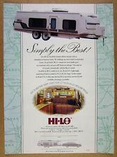 1992 Hi-Lo Travel Trailer 2x color photo vintage print Ad